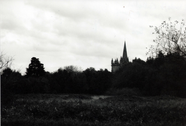 Llandaff Cathedral Canon AE-1 Programme 50mm Ilford XP2 400