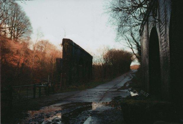 Abandoned Rail Line Truprint ISO 400 (exp 2004)