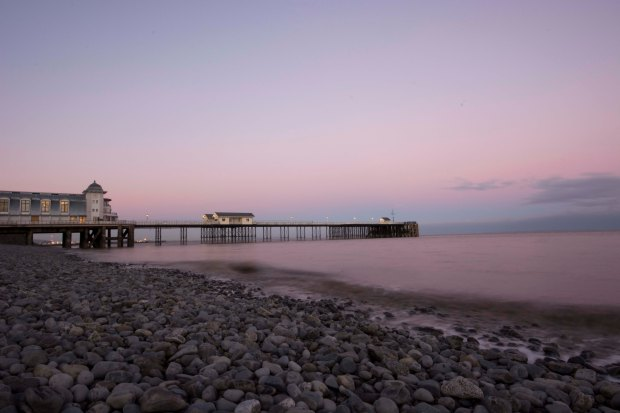 Penarth Pier Sundown