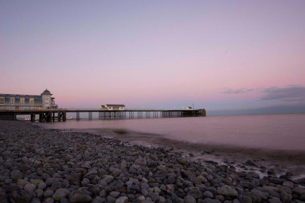 Penarth Pier Sundown