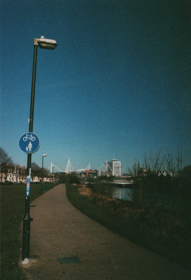 Taff Embankment Truprint ISO 400 (exp 2004)