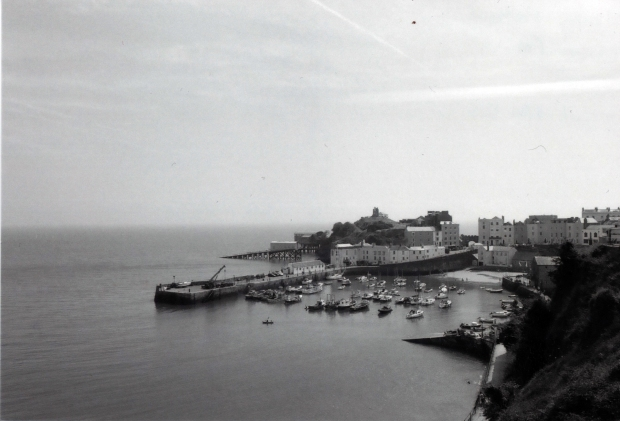 Tenby Harbour Ilford FP4 125