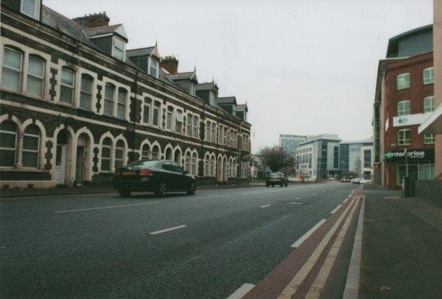 Cardiff Street Truprint ISO 400 (exp 2004)