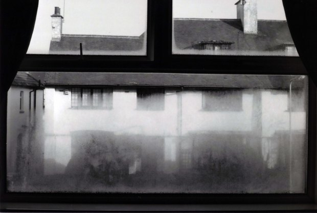 Misty Window Canon AE-1 Program 50mm Ilford FP4 125