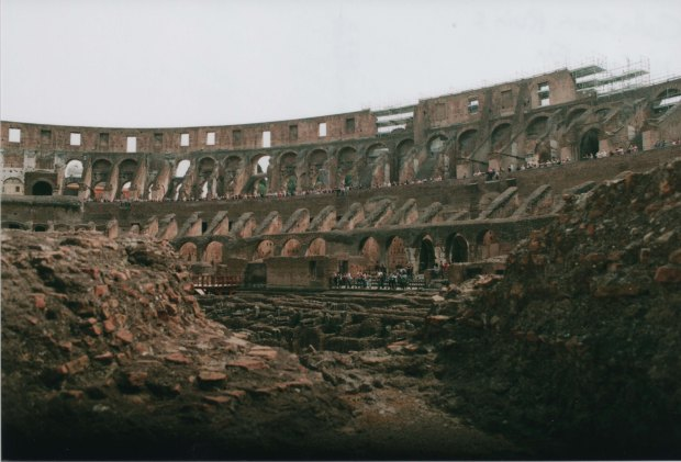 Colloseum ruins 28mm Agfa Vista Plus 200 f5