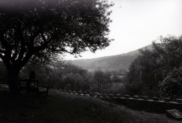 Abergavenny Castle Grounds Ilford FP4 ISO 125
