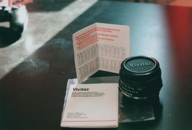 New lens Agfa Vistaplus 200 f5