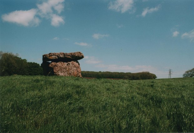 St Lythans Burial Chamber 2 28mm Agfa Vista Plus 200 f11 250th sec