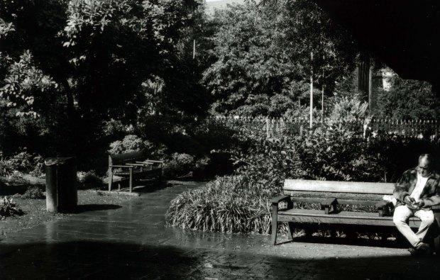Churchyard 50mm Fomapan Classic 100 f8 125th sec