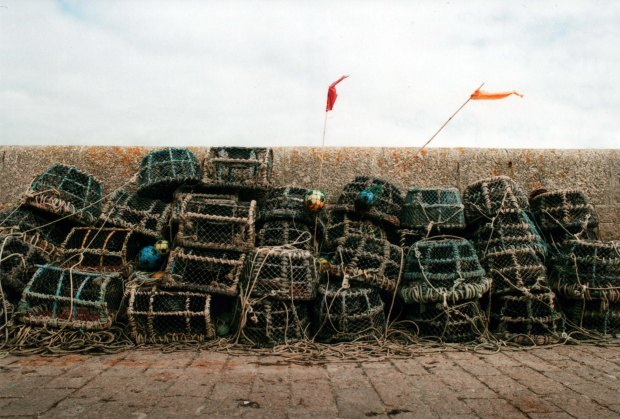 Lobster Pots Agfa Vista Plus f8 500th