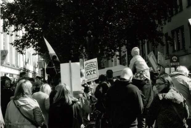 Protest 3 50mm Fomapan Classic 100 f8 125th sec