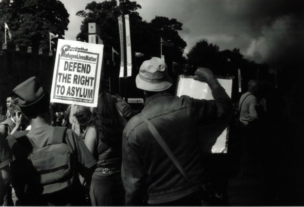 Protest 4 50mm Fomapan Classic 100 f8 1000th sec