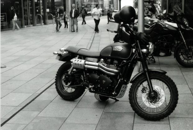 Triumph 50mm Fomapan classic 100